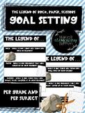 The Legend of Rock, Paper, Scissors Goal Setting