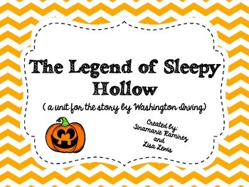 The Legend of Sleepy Hollow~a One Week Unit for the story