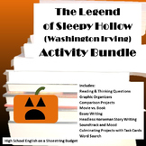 The Legend of Sleepy Hollow Activities Bundle (Washington Irving)- PDF file