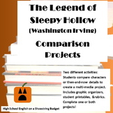 The Legend of Sleepy Hollow Comparison Projects (Washington Irving)
