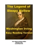 The Legend of Sleepy Hollow - Easy Reading Version with reading quiz