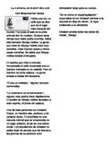 The Legend of Sleepy Hollow Excerpt in Spanish-EFL