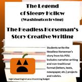 The Legend of Sleepy Hollow Headless Horseman's Story (Was