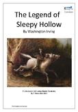 The Legend of Sleepy Hollow Literature Unit Plan