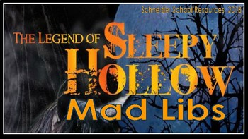 The Legend of Sleepy Hollow Mad Libs: A FUN Twist on the Literary Classic!