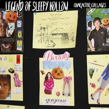 The Legend of Sleepy Hollow Mini Unit with Nonfiction & Craft, Halloween Lesson