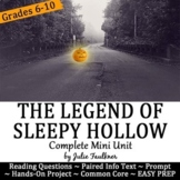 The Legend of Sleepy Hollow Mini Unit with Paired Nonfiction Text