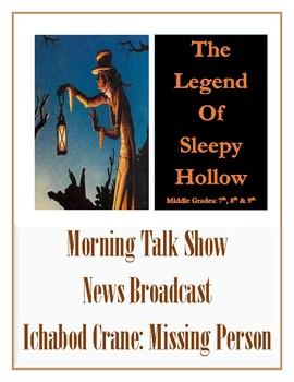 The Legend of Sleepy Hollow News Broadcast