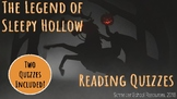 The Legend of Sleepy Hollow: Reading Quizzes/Comprehension