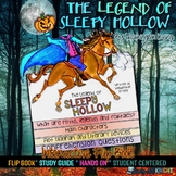 THE LEGEND OF SLEEPY HOLLOW READING, WRITING, FLIP BOOK HALLOWEEN FUN