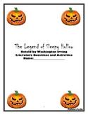"""The Legend of Sleepy Hollow"" (Scholastic version) Novel Unit"