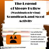 The Legend of Sleepy Hollow Soundtrack and Mood Activity (Washington Irving)