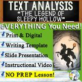 The Legend of Sleepy Hollow - Text Dependent Analysis Argumentative Writing