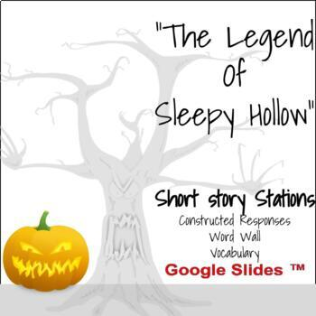"""""""The Legend of Sleepy Hollow"""": Vocabulary, Word Wall, and Constructed Response"""
