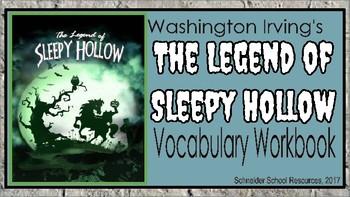 The Legend of Sleepy Hollow Vocabulary Workbook