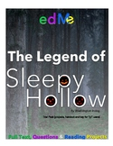 The Legend of Sleepy Hollow trial: reading comprehension q