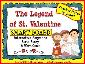 Valentine's Day SMART Board: The Legend of St. Valentine I