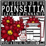 Legend of The Poinsettia - Christmas Reading Activity  • T