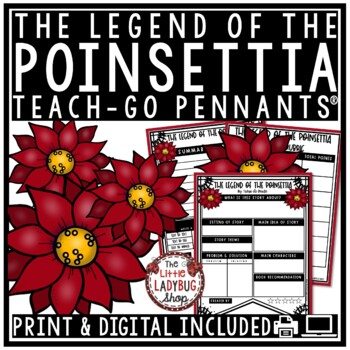 Legend of The Poinsettia - Christmas Reading Activity