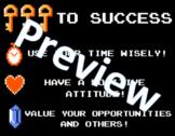 The Legend of Zelda - Keys to Success Poster (8.5 x 11)