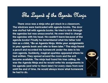 The Legend of the Agenda Ninja