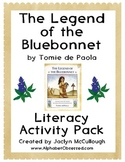 The Legend of the Bluebonnet COMMON CORE Literacy Pack