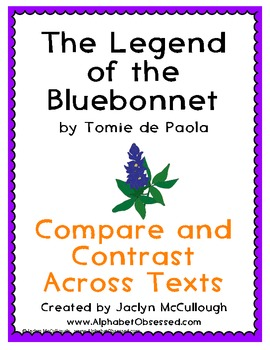 The Legend of the Bluebonnet- Compare and Contrast with ot