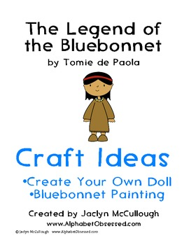 The Legend of the Bluebonnet- Craft Ideas