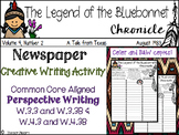 The Legend of the Bluebonnet - Tomie DePaola - Creative Writing Activity