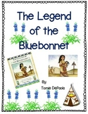 The Legend of the Bluebonnet by Tomie DePaola-A Complete Book Response Journal