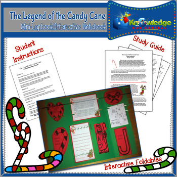 The Legend of the Candy Cane Mini-Lapbook