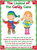 The Legend of the Candy Cane craft