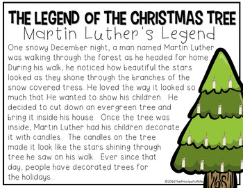 The Legend of the Christmas Tree