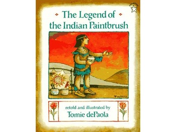 The Legend of the Indian Paintbrush by Tomie dePaola