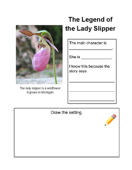 The Legend of the Lady Slipper Graphic Organizer