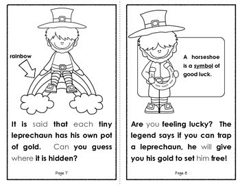 The Legend of the Leprechaun  {A Student Book and Literacy Activities}