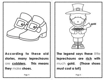 The Legend of the Leprechaun (A Holiday Student Book for Grades K-2)