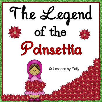 image about The Legend of the Poinsettia Printable Story named legend-of-the-poinsettia