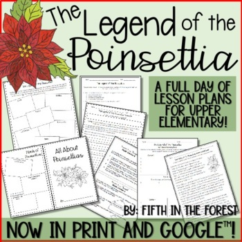 The Legend of the Poinsettia FULL Day of Christmas Lesson Plans