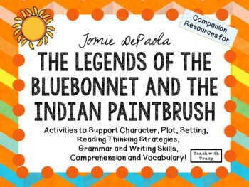 The Legends of the Bluebonnet and the Indian Paintbrush by Tomie DePaola