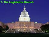 The Legislative Branch (AP Government) Bundle with Video