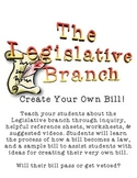The Legislative Branch: Create Your Own Bill!