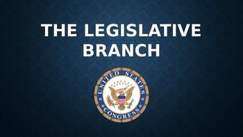 The Legislative Branch Slide Show