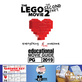 The Lego Movie 2: The Second Part - Guide   Questions   Worksheet (PG - 2019)