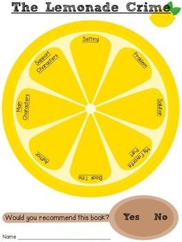The Lemonade Crime (A Book Companion)