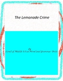 The Lemonade Crime Literature and Grammar Unit