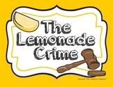 The Lemonade Crime Writer Response Pack - Writing, Lang. Arts