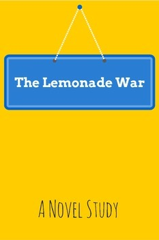 The Lemonade War - Florida Standards Novel Study