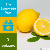 The  Lemonade War -3 quizzes