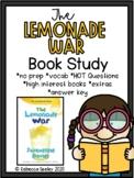 The Lemonade War: A Comprehensive Book Study